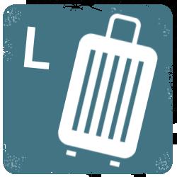 Velké cestovní kufry
