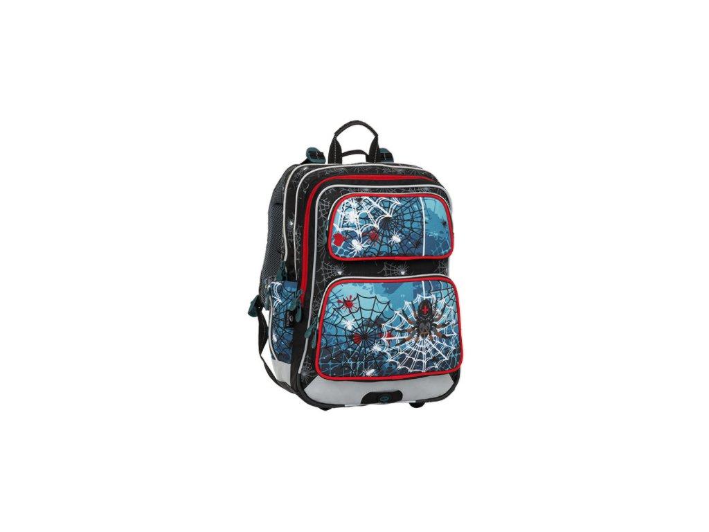 Bagmaster GALAXY 8 B BLACK/BLUE/RED  + Pouzdro zdarma