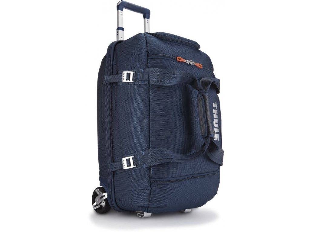 Thule Crossover 56L pojízdná cestovní taška TCRD1 - tmavě modrá  + PowerBanka nebo brašna zdarma