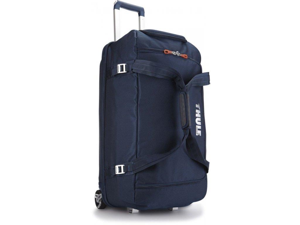 Thule Crossover 87L pojízdná cestovní taška TCRD2 - tmavě modrá  + PowerBanka nebo pouzdro zdarma