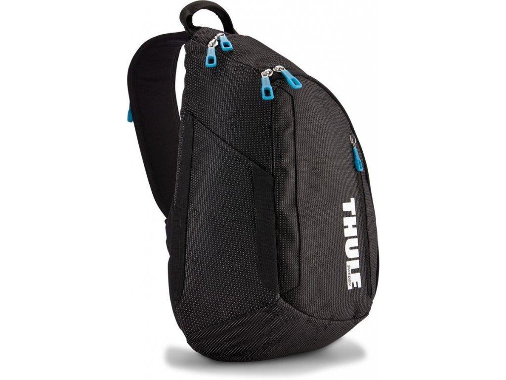Thule Crossover jednoramenný batoh 14l TCSP313K - černý  + Brašna zdarma