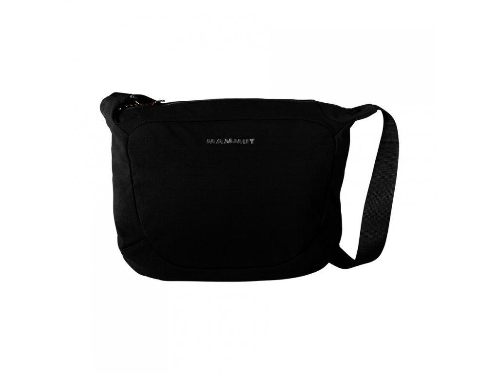 13b1622a9 Mammut Shoulder Bag Round 4 black 0001 - Brašničky.cz