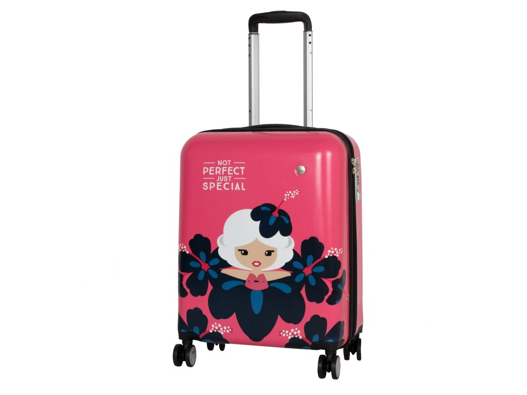 Travelite Lil' Ledy 4w S hardcase Coral
