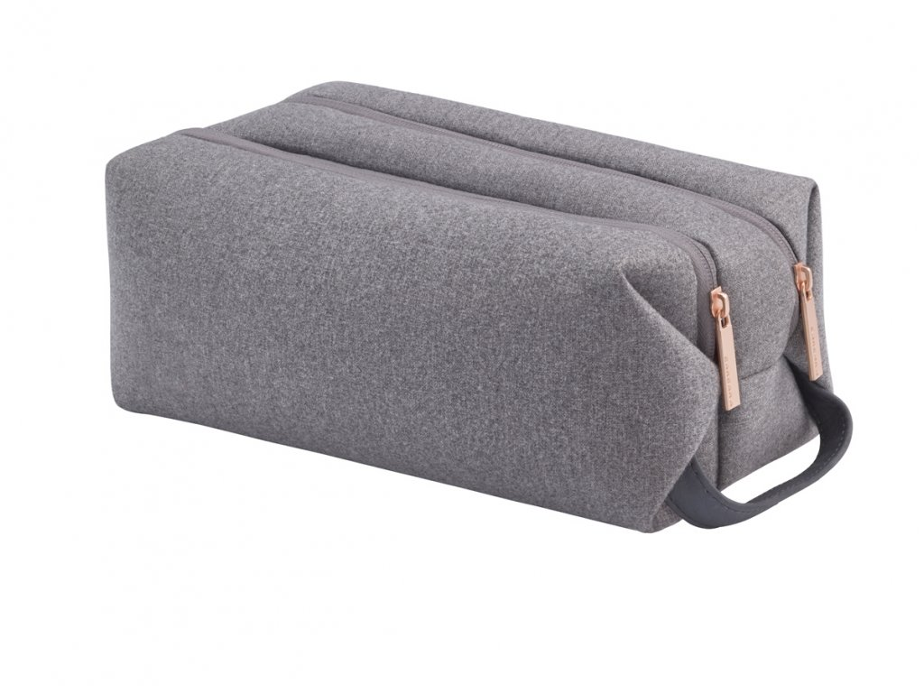 Titan Barbara Toilet Bag Grey