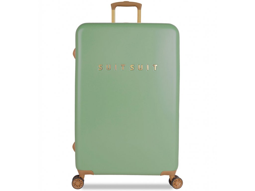 Cestovní kufr SUITSUIT® TR-7103/3-L - Fab Seventies Basil Green  + PowerBanka nebo pouzdro zdarma