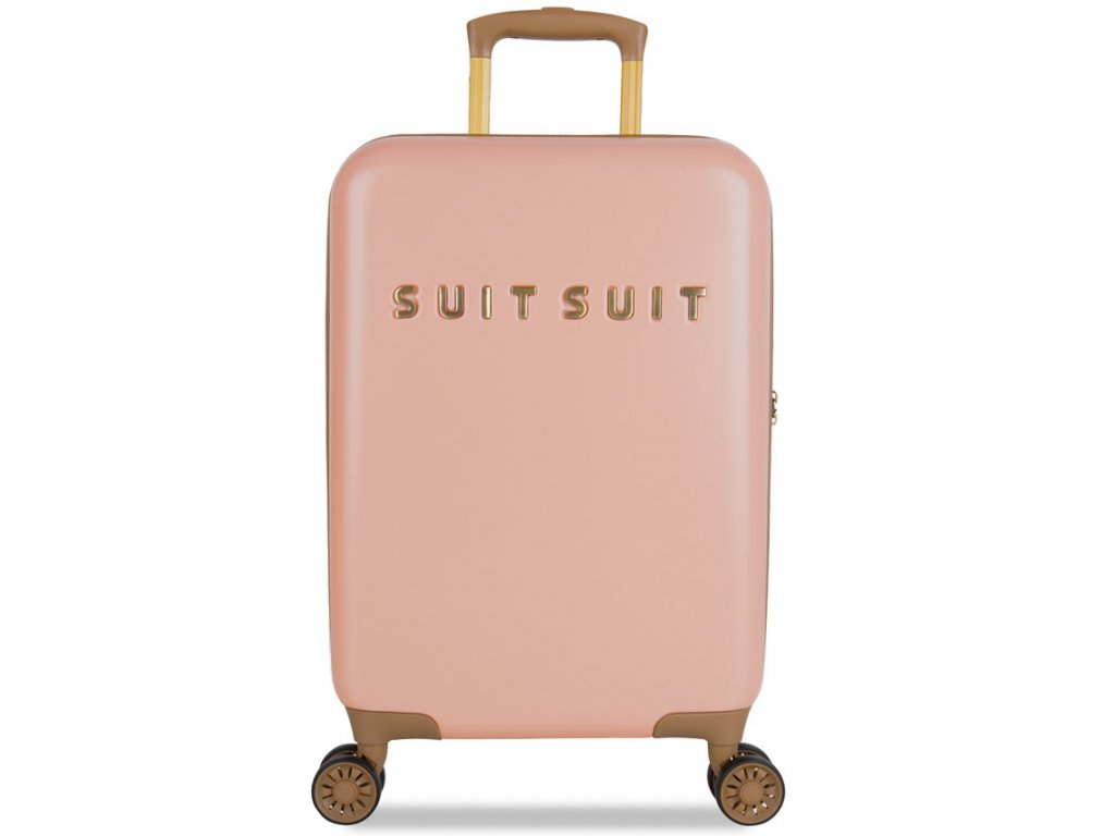 Kabinové zavazadlo SUITSUIT® TR-7101/3-S - Fab Seventies Coral Cloud  + PowerBanka nebo pouzdro zdarma