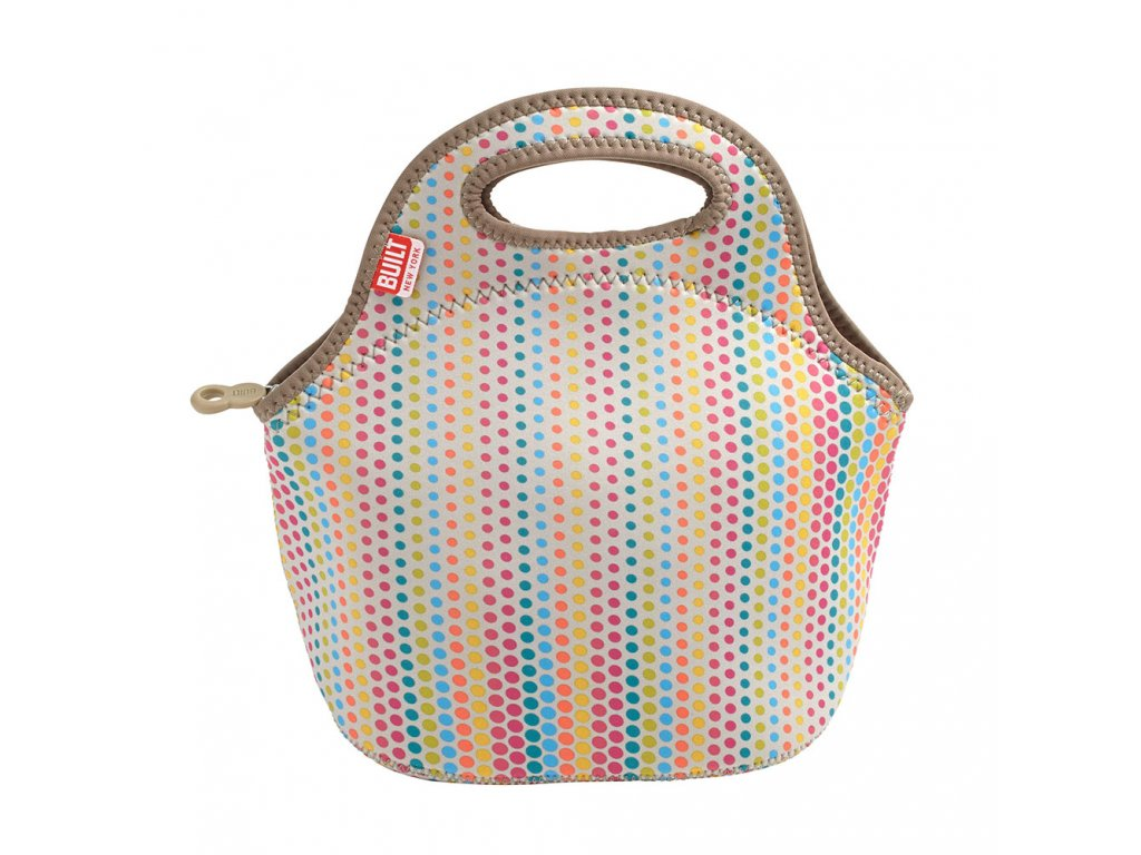 Built Gourmet Getaway Lunch Tote Candy Dot