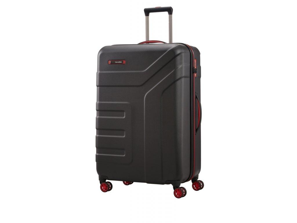Travelite Vector 4w L Black  + Pouzdro zdarma