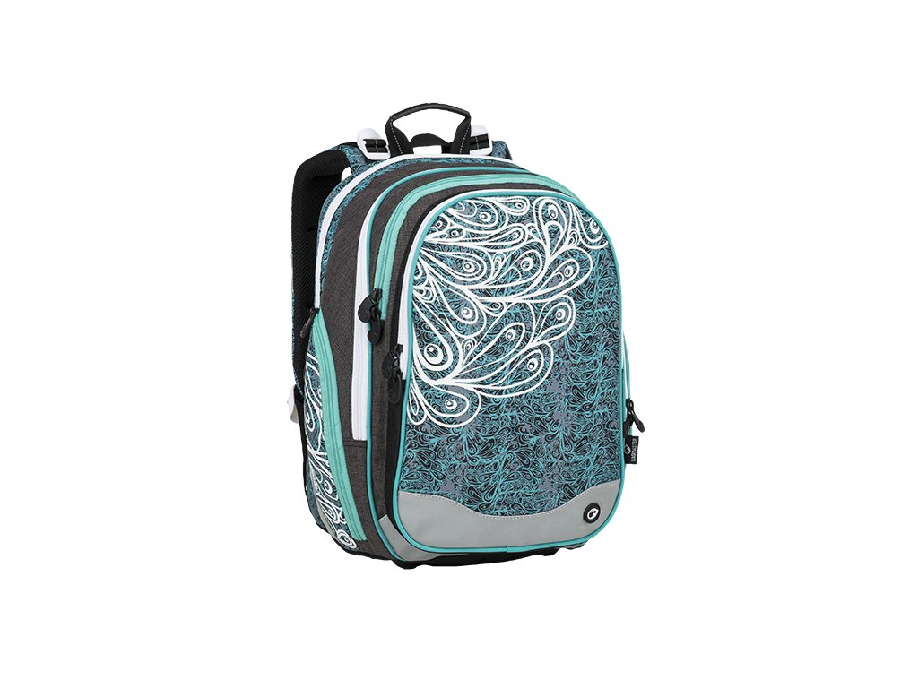 Bagmaster ELEMENT 9 A TURQUOISE/WHITE/GRAY