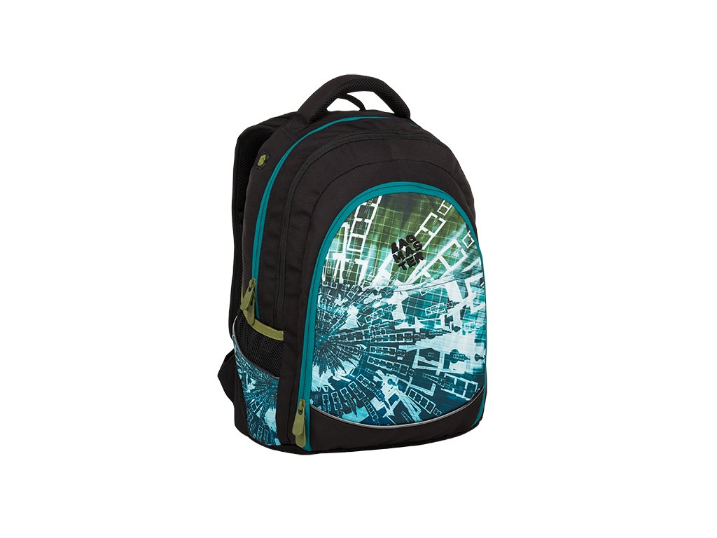 Doprava zdarma. Bagmaster DIGITAL 9 B BLUE GREEN BLACK 0d5958d7e9