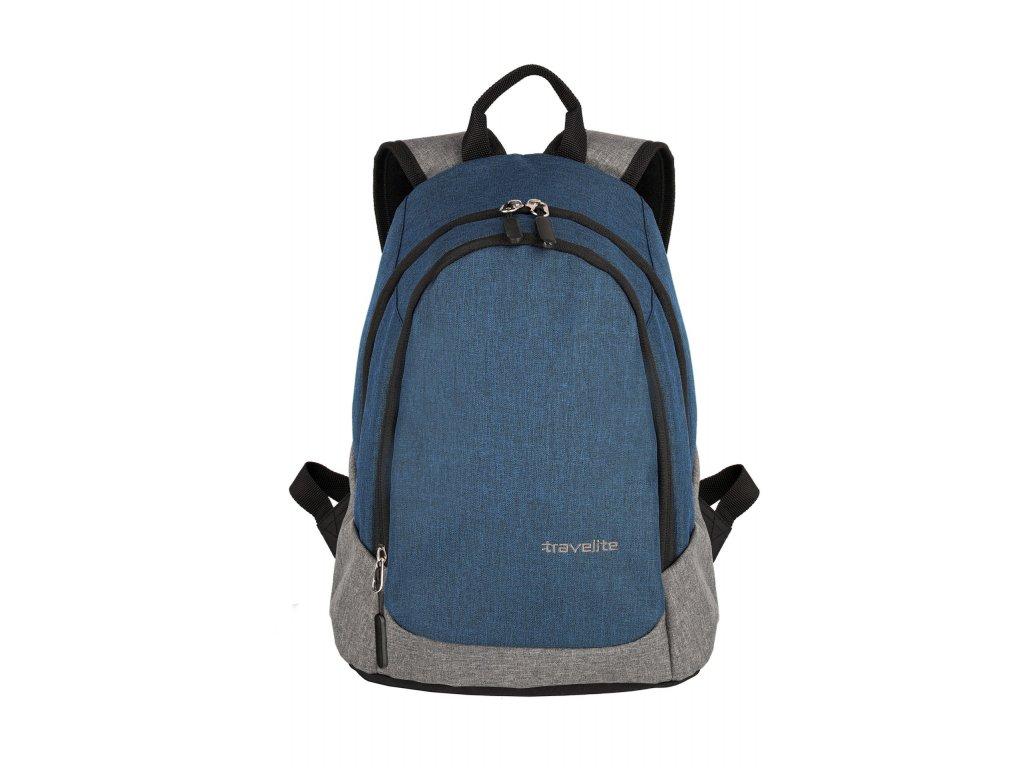 166046 travelite basics mini backpack navy