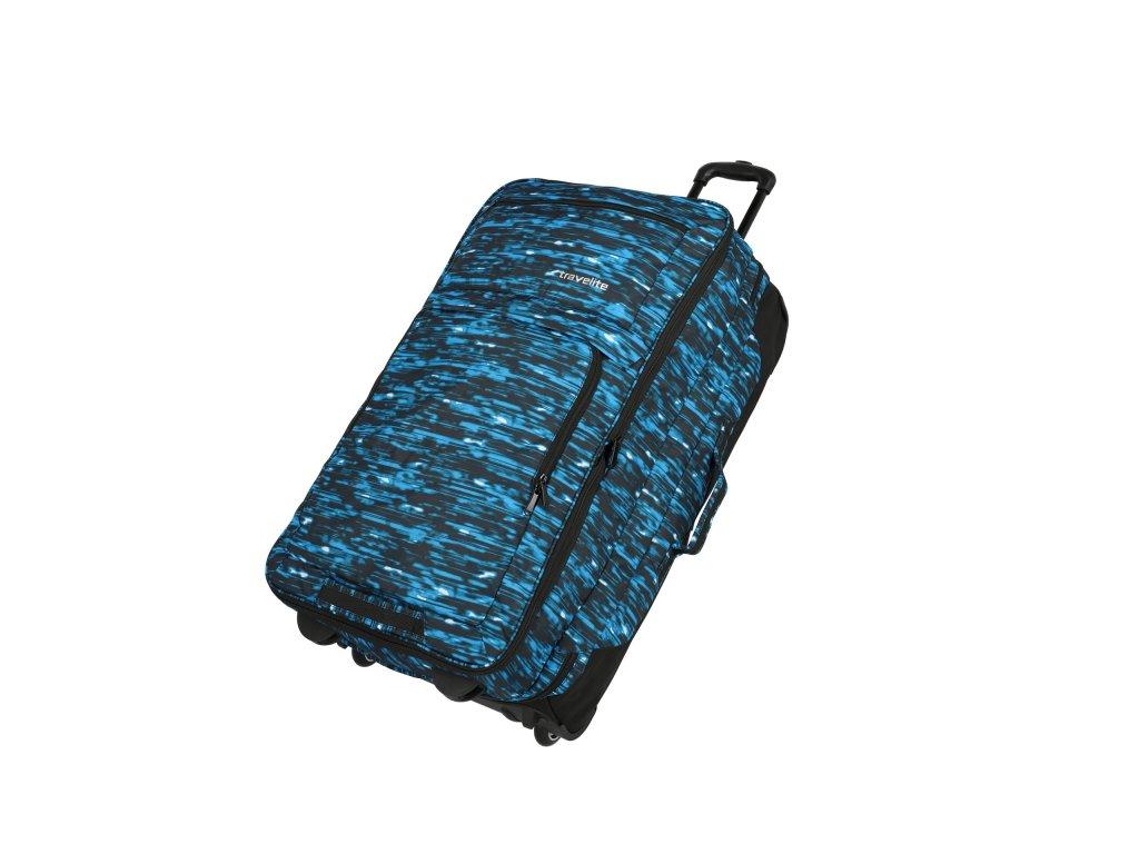 166058 travelite basics doubledecker blue print