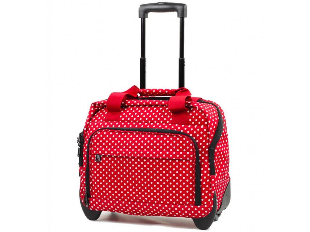 166418 kufr prirucni na notebook member s cm 0034 cervena bila