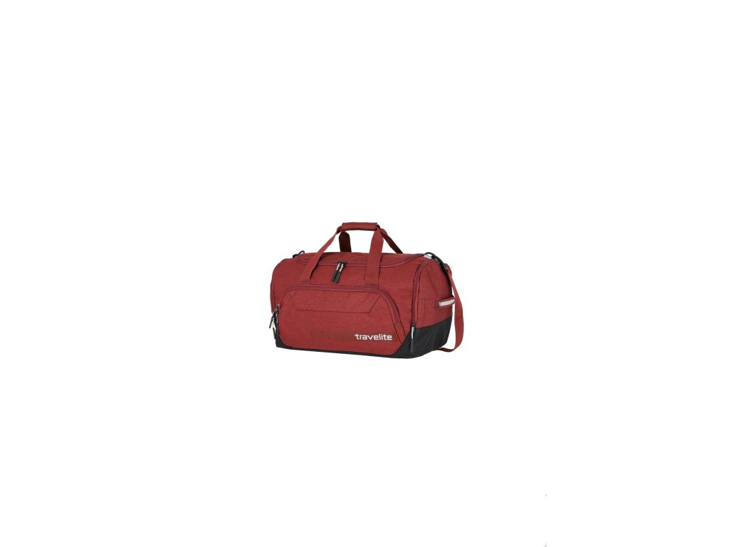172394 3 travelite kick off duffle m red