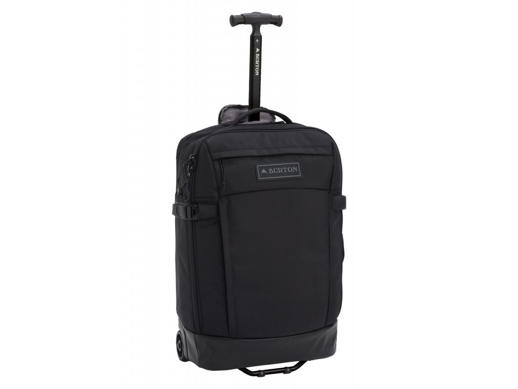 179120 burton multipath 40l carry on travel bag true black ballistic