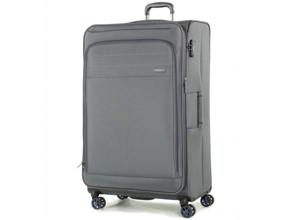 188906 cestovni kufr rock tr 0162 3 xl seda