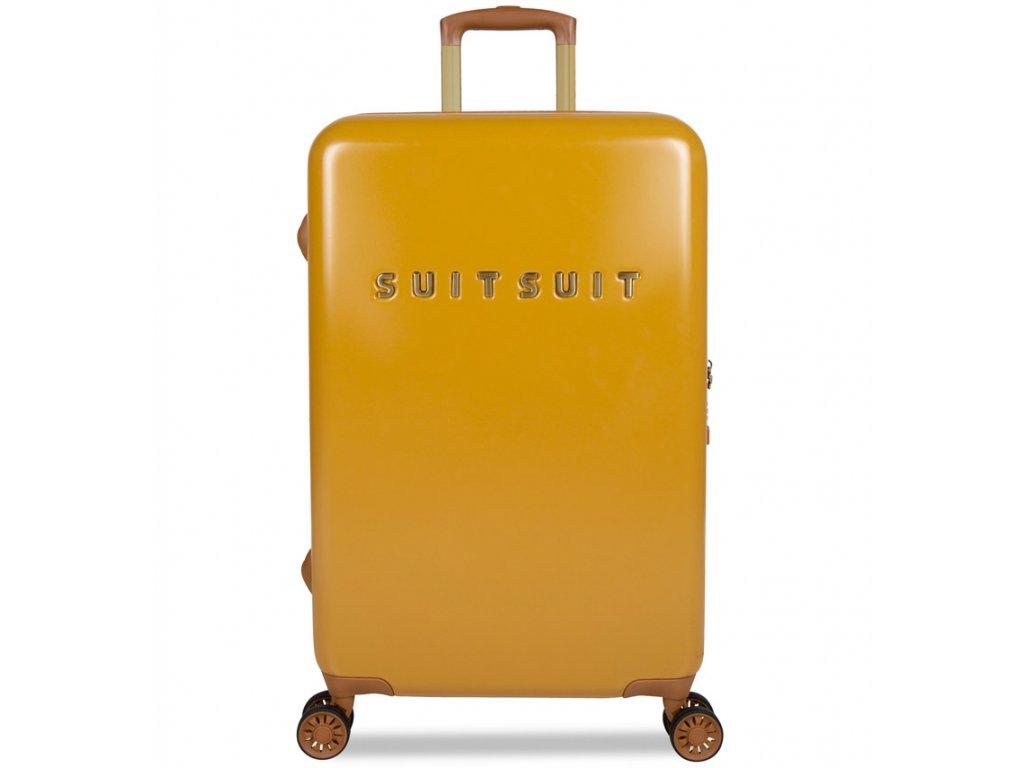 188924 cestovni kufr suitsuit tr 7107 3 m fab seventies lemon curry