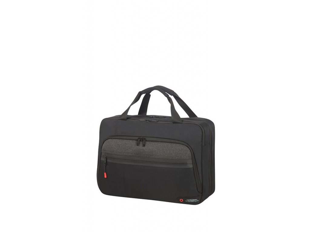 204956 american tourister city aim 3 way boarding bag 15 6 black