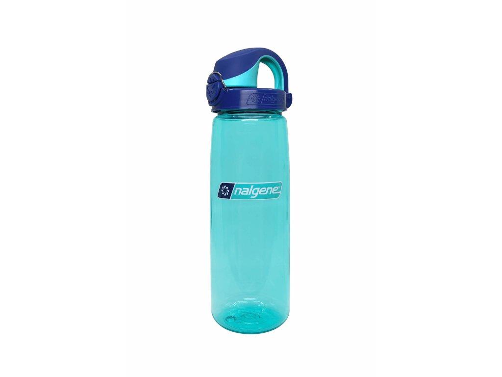 Nalgene OTF 650 mL Blue Aqua_Blue Aqua cap/5565-1224 Blue Aqua_Blue Aqua cap/5565-1224