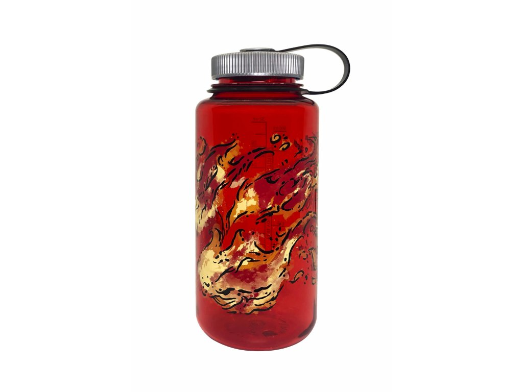 Nalgene Wide-Mouth 1000 mL Red_Fire/682019-0143 Red/Fire 682019-0143