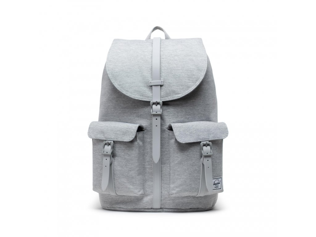Herschel Dawson Light Grey Crosshatch 20,5l  + Pouzdro zdarma