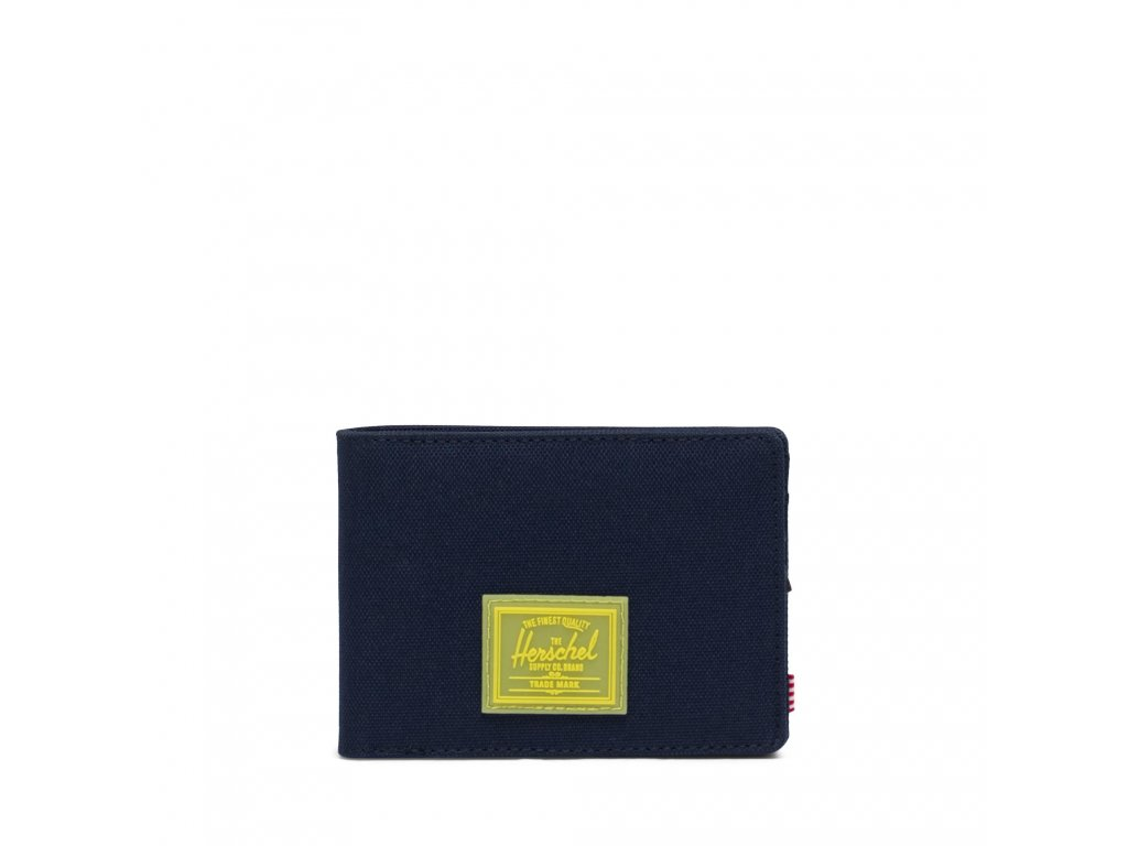 Herschel Roy Rubber RFID Peacoat/Cyber Yellow