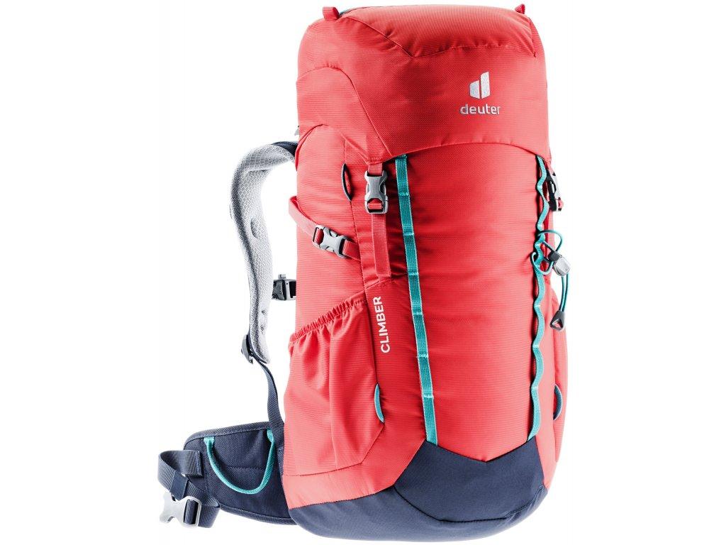 Deuter Climber chili-navy  + Pouzdro zdarma