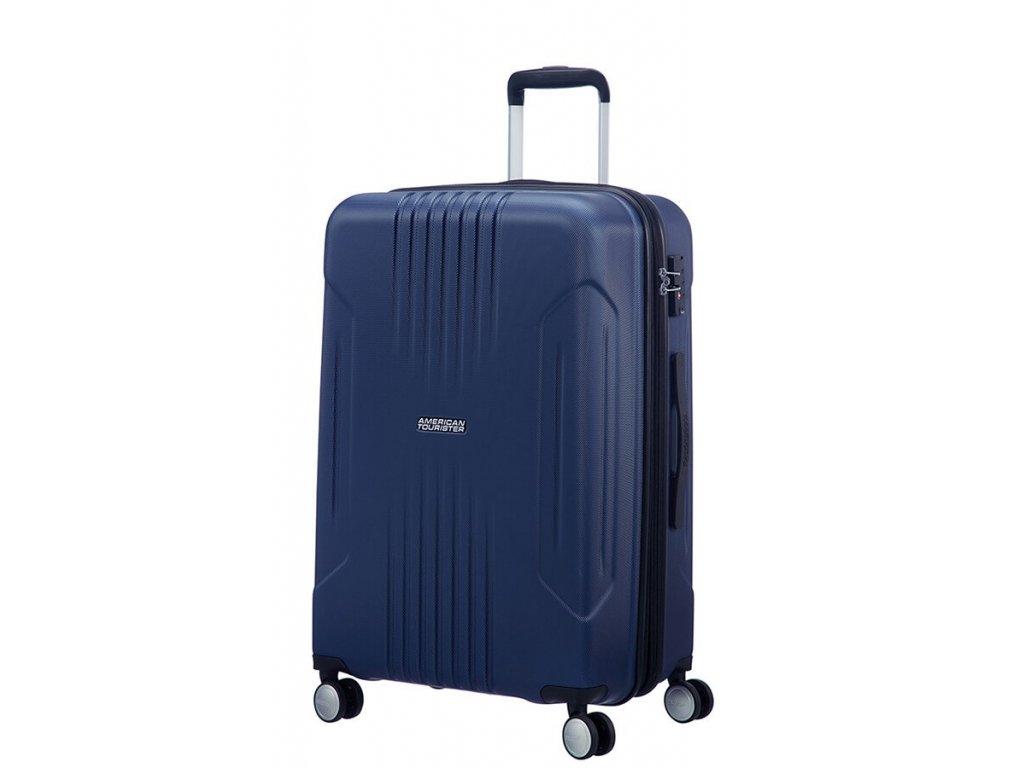 American Tourister TRACKLITE M 67/24 EXP TSA - DARK NAVY  + Pouzdro zdarma