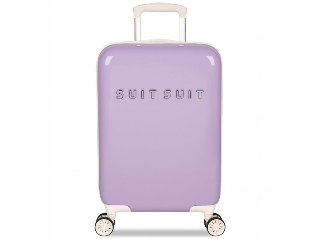 Kabinové zavazadlo SUITSUIT® TR-1203/3-S - Fabulous Fifties Royal Lavender  + Pouzdro zdarma