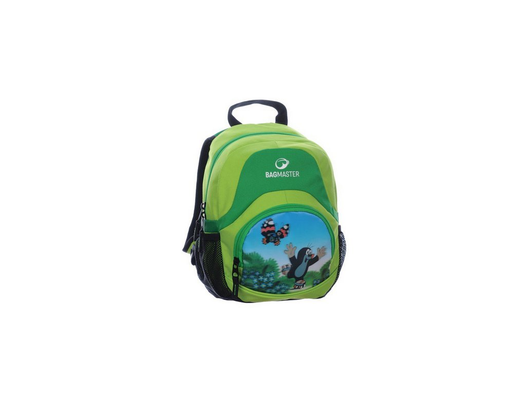 Bagmaster Dětský batůžek s Krtečkem SP 0314 A GREEN