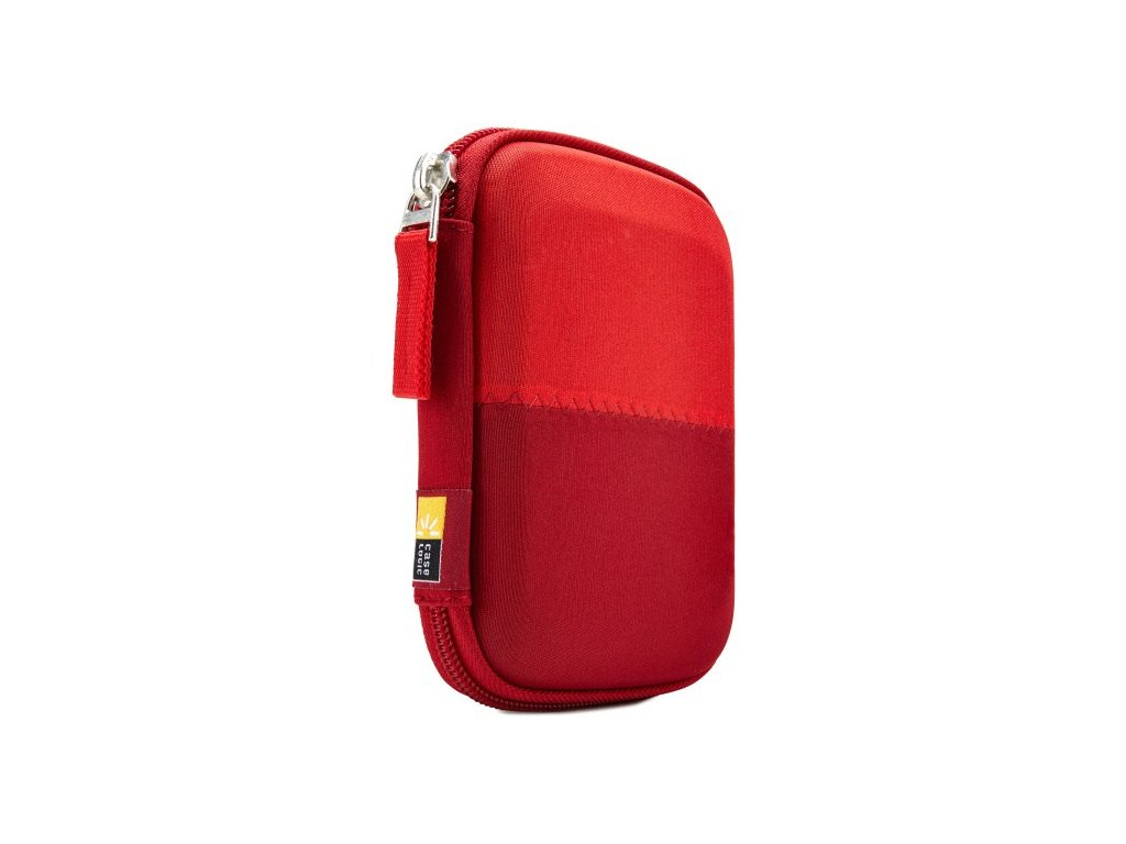 """Case Logic skořepinové pouzdro na 2,5"""" přenosný disk HDC11R - červené"""