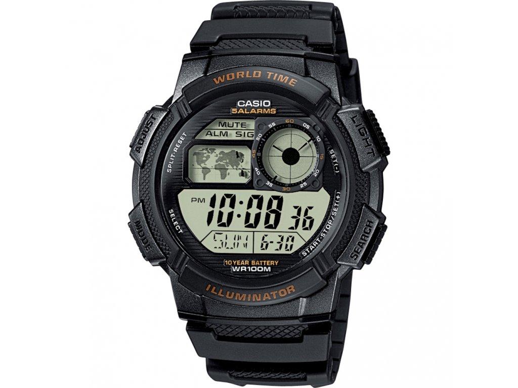 CASIO AE 1000W-1A - pánské hodinky - Brašničky.cz 424660837e1