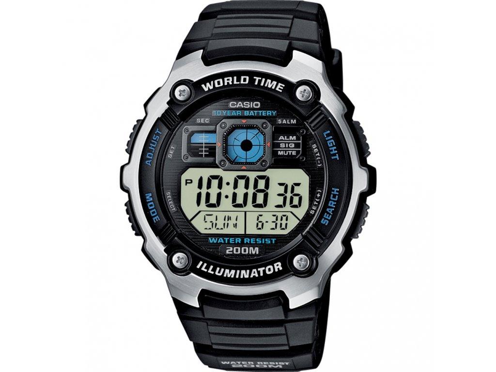 CASIO AE 2000W-1A - pánské hodinky