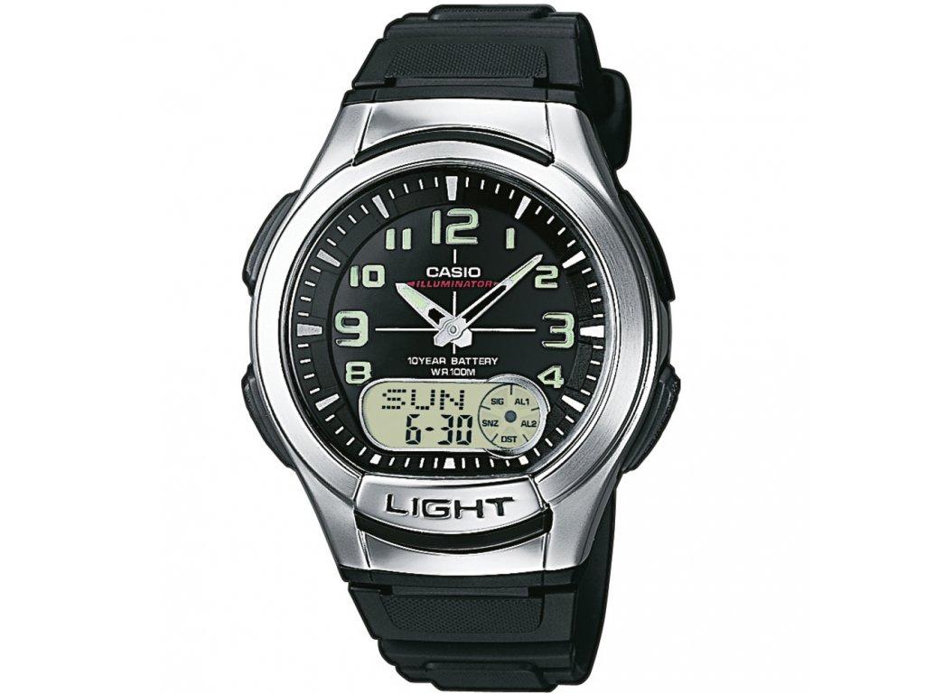 CASIO AQ 180-1B - pánské hodinky