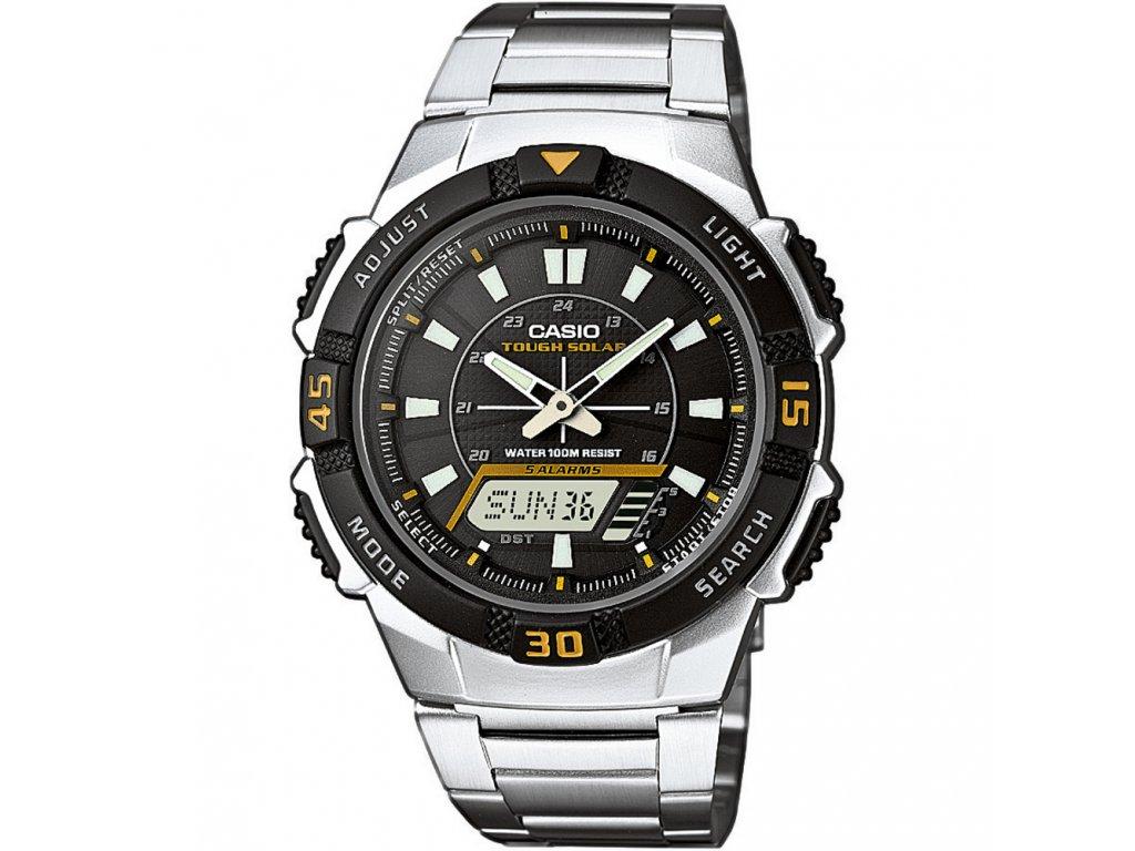 Casio AQ S800WD-1E - Pánské náramkové hodinky  + Pouzdro zdarma