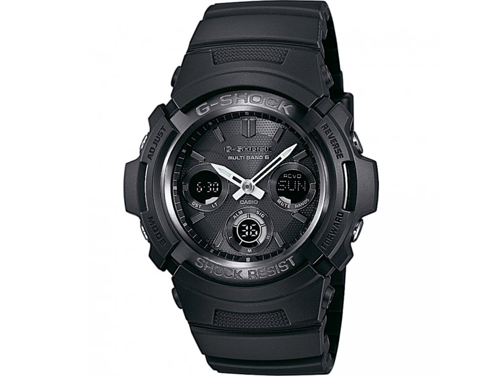 Casio AWG M100B-1A - pánské hodinky  + PowerBanka nebo pouzdro zdarma