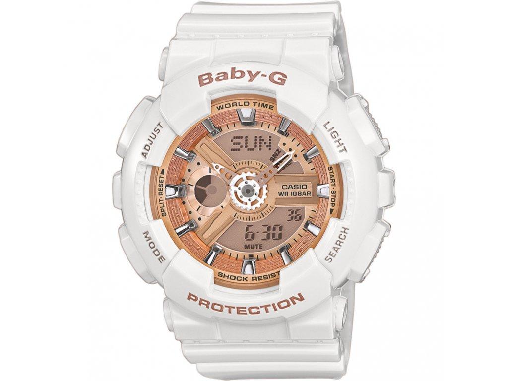 Casio BA 110-7A1 - dámské hodinky  + PowerBanka nebo pouzdro zdarma