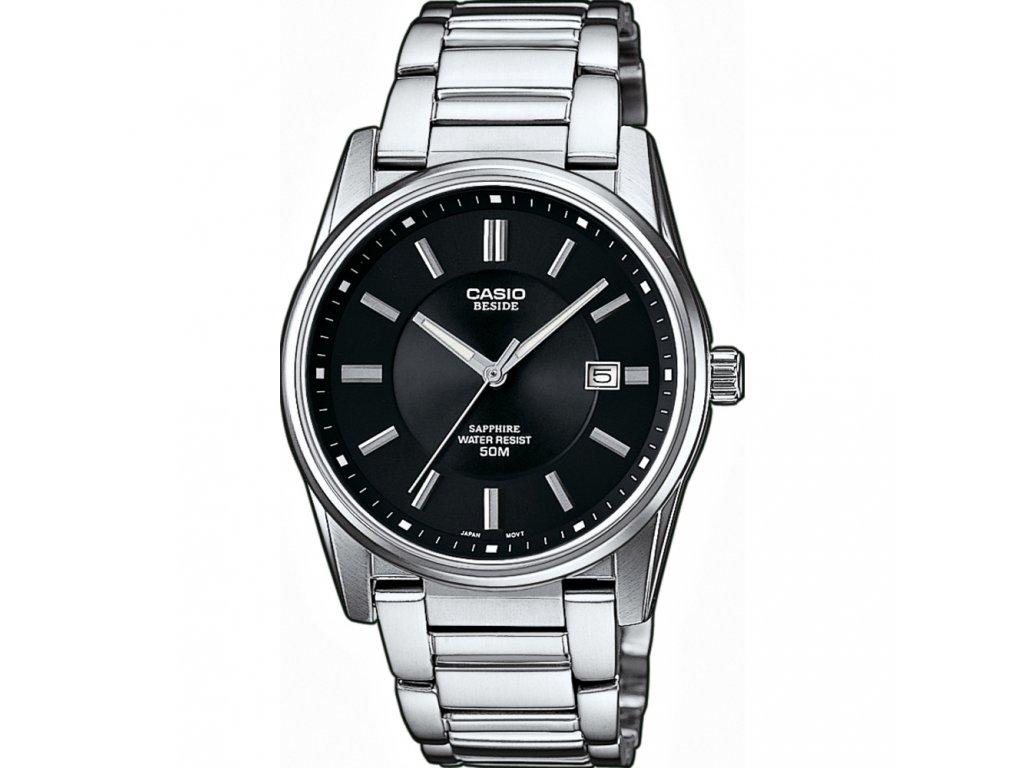 CASIO BEM 111D-1A - pánské hodinky  + PowerBanka nebo pouzdro zdarma