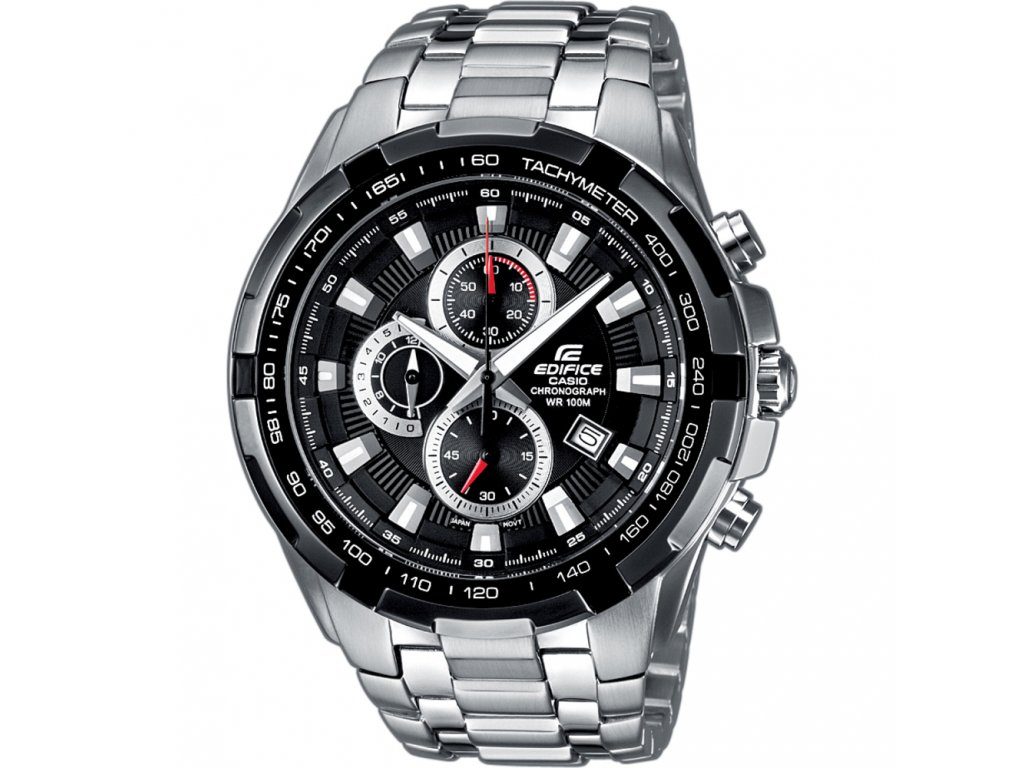CASIO EDIFICE EF 539D-1A - pánské hodinky  + PowerBanka nebo pouzdro zdarma