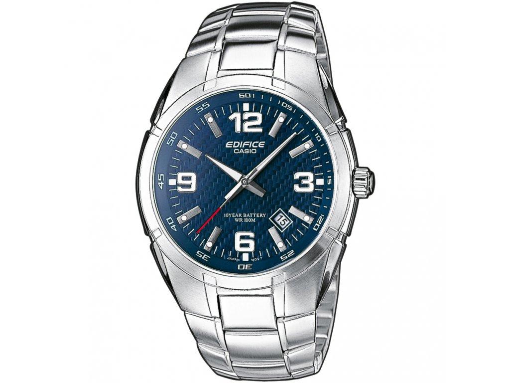 Casio EF 125D-2A - pánské hodinky  + Pouzdro zdarma