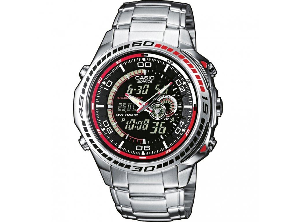 Casio EFA 121D-1A - Pánské hodinky  + PowerBanka nebo pouzdro zdarma