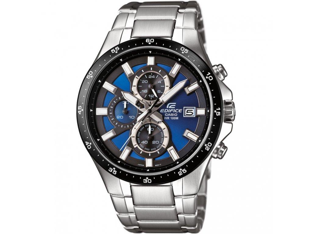 Casio EFR 519D-2A - pánské analogové hodinky  + PowerBanka nebo pouzdro zdarma