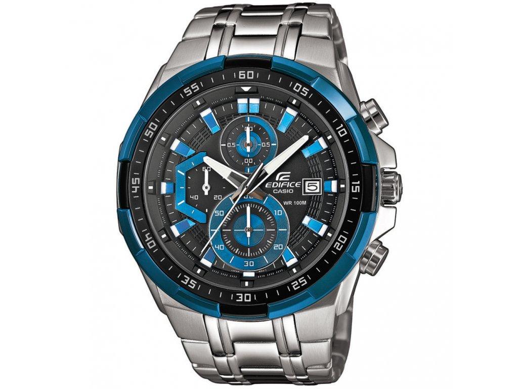 Casio EFR 539D-1A2 - pánské analogové hodinky  + PowerBanka nebo pouzdro zdarma