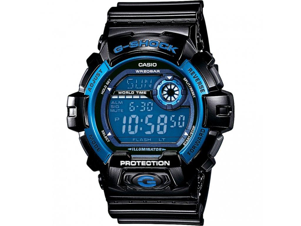 Casio G 8900A-1 - pánské digitální hodinky  + PowerBanka nebo brašna zdarma