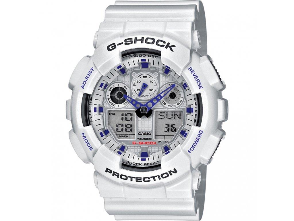 Casio GA 100A-7A - pánské hodinky  + PowerBanka nebo pouzdro zdarma