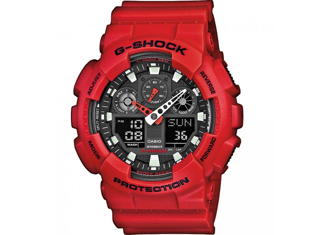 Casio GA 100B-4A - pánské hodinky  + PowerBanka nebo pouzdro zdarma