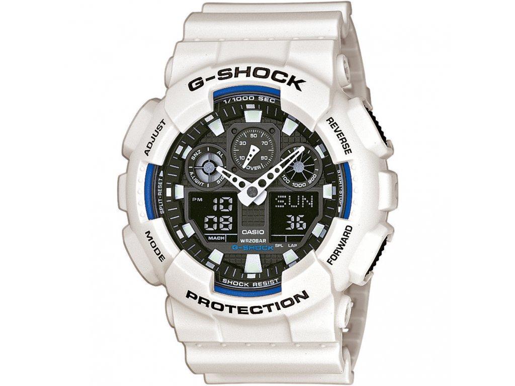 Casio GA 100B-7A - pánské hodinky  + PowerBanka nebo pouzdro zdarma