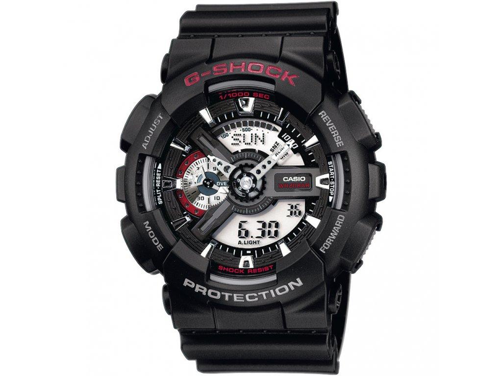 Casio GA 110-1A - pánské hodinky  + PowerBanka nebo pouzdro zdarma
