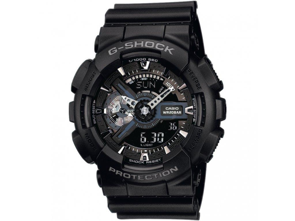 Casio GA 110-1B - pánské hodinky  + PowerBanka nebo pouzdro zdarma