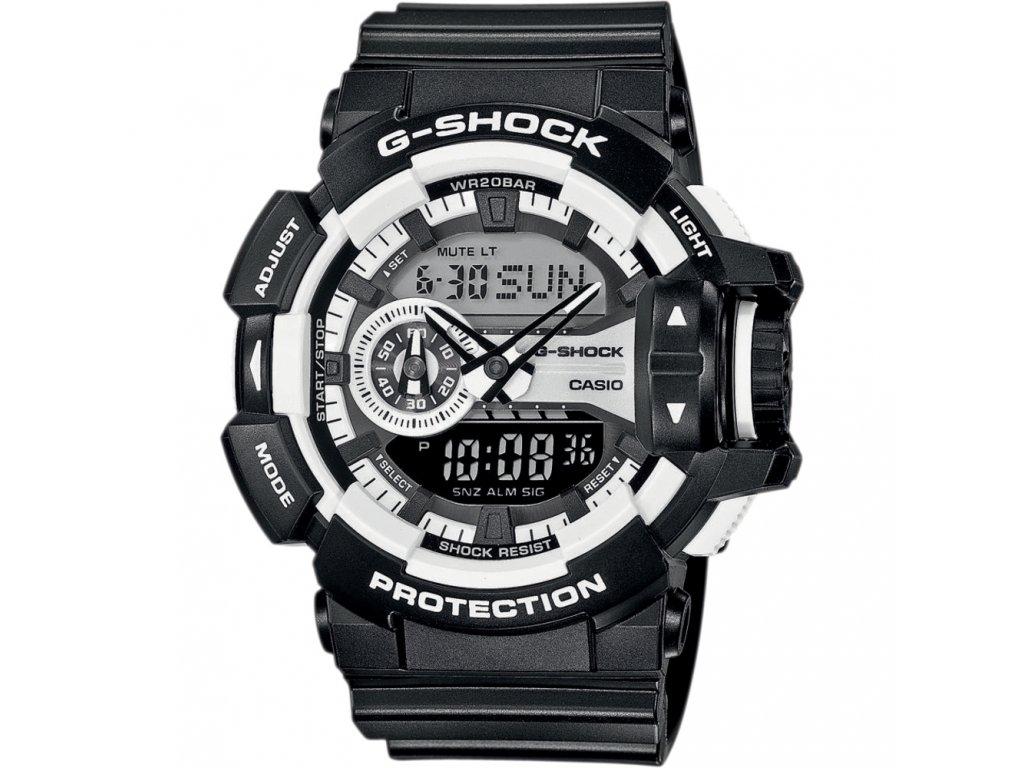 Casio GA 400-1A - pánské hodinky  + PowerBanka nebo pouzdro zdarma